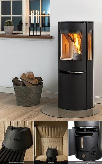 Bergé Poêle & cheminées - Nouveau : Le Poêle Hybride