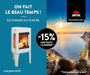 Bergé Poêle & cheminées - Promo JOTUL 2019