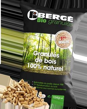 Bergé Bio Granulés - Sac